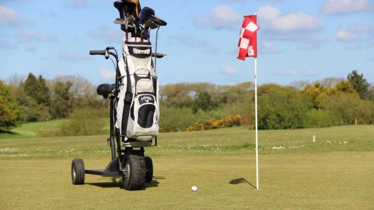 Trottinette électrique GOLF HAPPY SCOOT dédiée aux terrains de golf