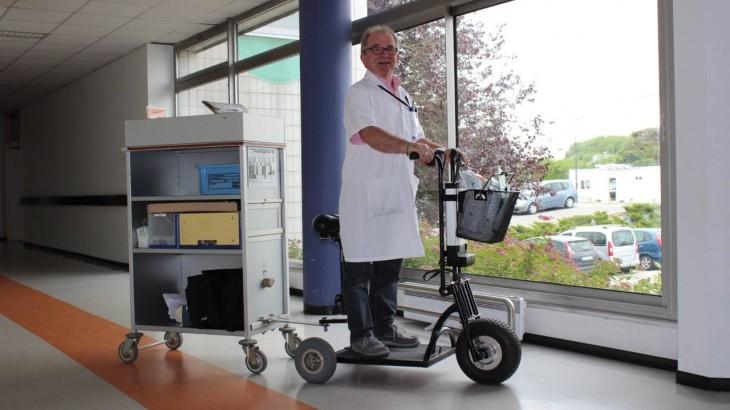 la trottinette medical pour les hôpitaux